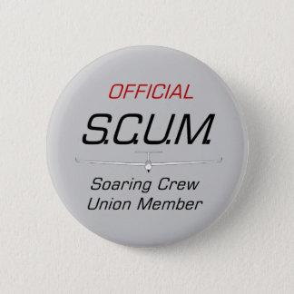 SCUM ... Soaring Crew Union Member Button