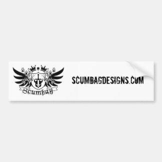Scumbag Bumper Sticker