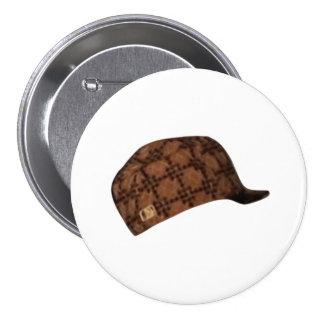 Scumbag Steve Hat Meme 3 Inch Round Button