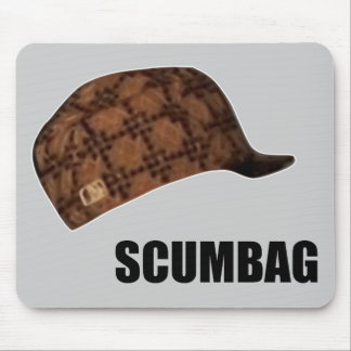 Scumbag Steve Hat Meme Mouse Pad