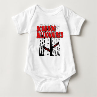 Scumdog Billionaires on Wall Street Baby Bodysuit