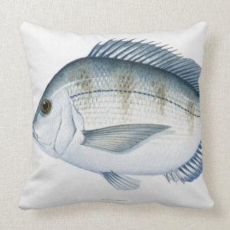 Scup Fish Throw Pillows