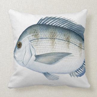 Scup Fish Throw Pillow