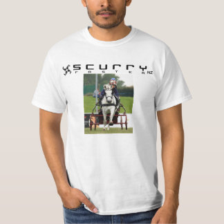 Scurry NZ T-shirt personalise with your own photo