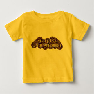 Scurvy Dog The Booty Hunter Dubloons Baby T-Shirt