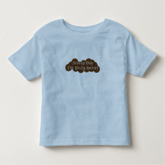 Scurvy Dog The Booty Hunter Dubloons Toddler T-shirt