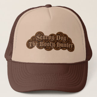 Scurvy Dog The Booty Hunter Dubloons Trucker Hat