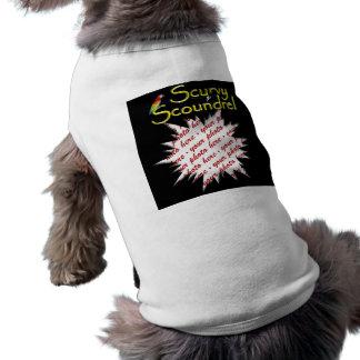 Scurvy Scoundrel Doggie T Shirt