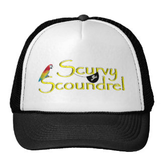 SCURVY SCOUNDREL TRUCKER HAT