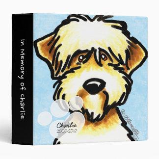 SCWT Pet Name Blue Memory Album 3 Ring Binder