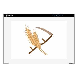 """Scythe and Grain 15"""" Laptop Skins"""