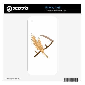 Scythe and Grain iPhone 4S Decal