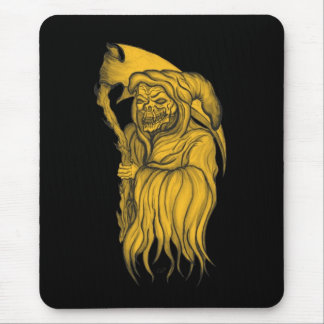 Scythe man - The Death Mouse Pad