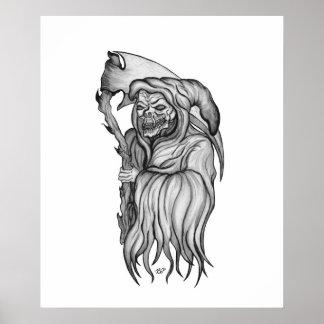 Scythe man - The Death Poster