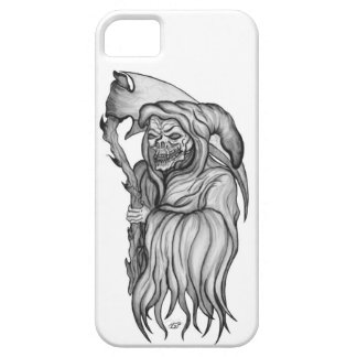 Scythe one - The Death black and white Design iPhone SE/5/5s Case