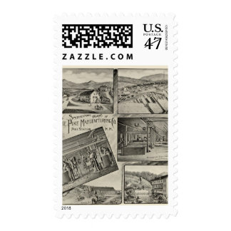 Scythestone works, Pike Manufacturing Co Postage