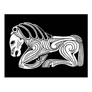 Scythian horse postcard