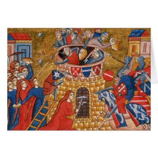 Scythian women besieging their enemies card