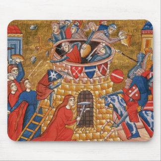Scythian women besieging their enemies mouse pad