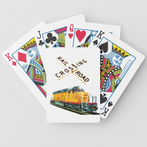 SD-40 Crossing Deck Of Cards