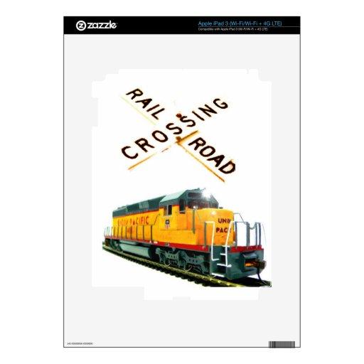 SD-40 Crossing iPad 3 Skins