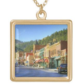 SD, Deadwood, ciudad histórica de la minería auríf Colgante Cuadrado