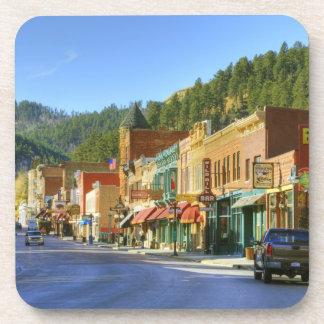 SD, Deadwood, ciudad histórica de la minería auríf Posavasos De Bebidas