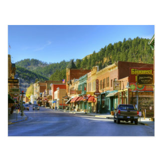SD Deadwood ciudad histórica de la minería auríf Tarjeta Postal
