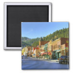 SD, Deadwood, Historic Gold Mining town 2 Inch Square Magnet