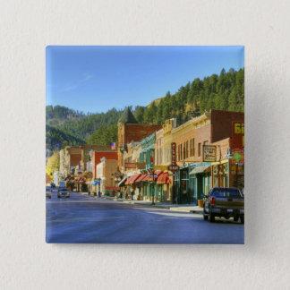 SD, Deadwood, Historic Gold Mining town Button