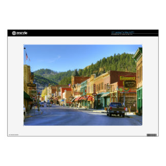 SD, Deadwood, Historic Gold Mining town Laptop Decals