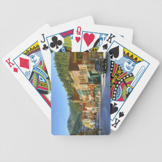 SD, Deadwood, Historic Gold Mining town Bicycle Playing Cards