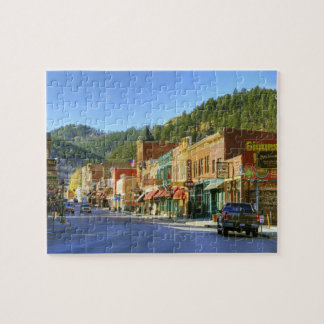 SD, Deadwood, Historic Gold Mining town Puzzles