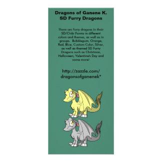 SD Furry Dragons Promo Rack Card