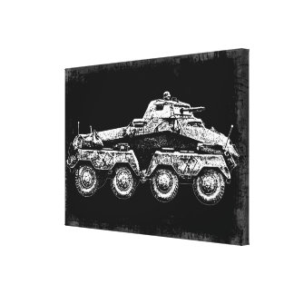 Sd.Kfz. 231 (8-Rad) Canvas Print
