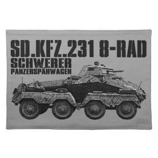 Sd.Kfz. 231 (8-Rad) Place Mats