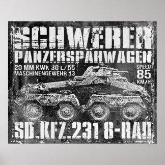 Sd.Kfz. 231 (8-Rad) Poster