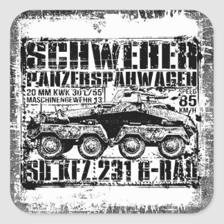 Sd.Kfz. 231 (8-Rad) Square Sticker