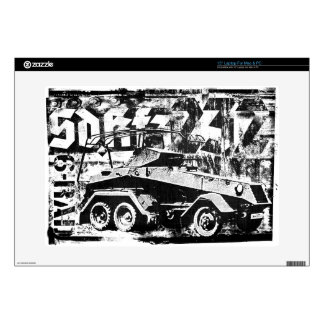 "Sd.Kfz. 232 (6-Rad) 15"" Laptop For Mac & PC Skin Decals For Laptops"