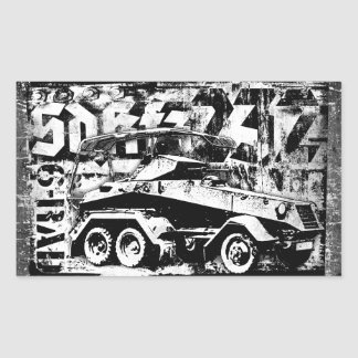 Sd.Kfz. 232 (6-Rad) Rectangle Stickers
