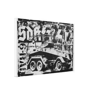 Sd.Kfz. 232 (6-Rad) Wrapped Canvas
