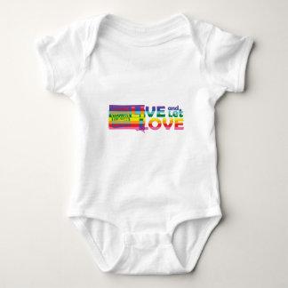 SD Live Let Love Baby Bodysuit