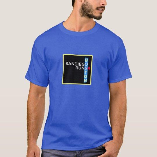 SD Runs 4 Boston Tshirt