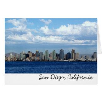 SD, San Diego, California Card