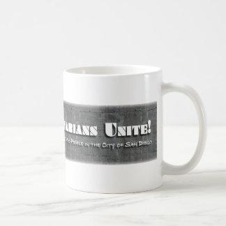 SD Veg Unite!  Coffee Mug