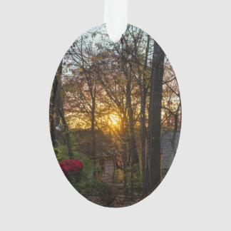 Sdc Woods Sunset Ornament