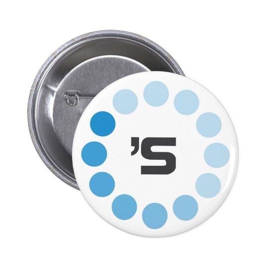 SDCCBH: Alternate Loading Design Pinback Button