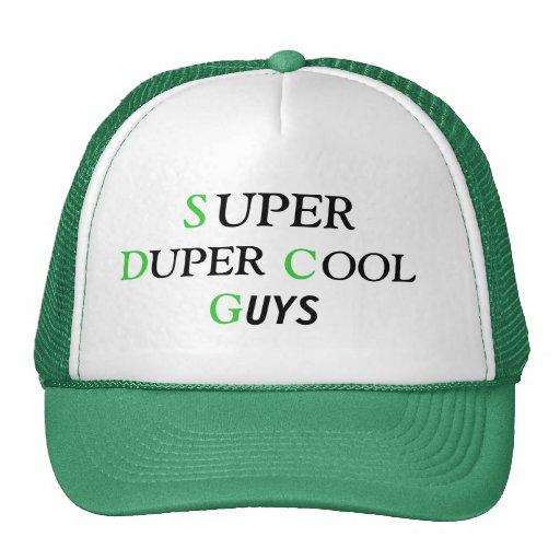 sdcg duper cool guys hat zazzle