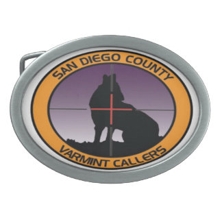 SDCVC COLOR LOGO BELT BUCKLE