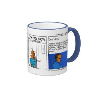 SDD More responsibilities. Part II mug 11oz